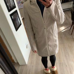 Lululemon-long white-ish coat